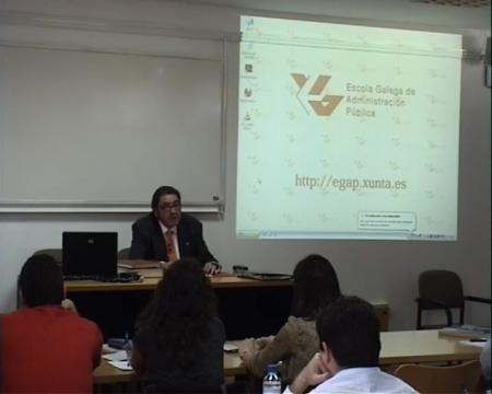 Manuel Martínez Míguez, profesor titular de Dereito Mercantil na Universidade de León